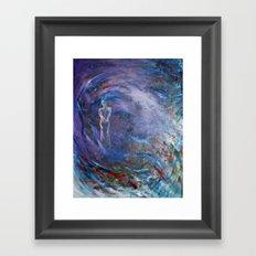 Silvia Framed Art Print
