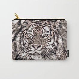 Rustic Style - Tiger 2 Carry-All Pouch