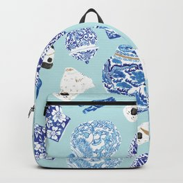 Chinoiserie Curiosity Cabinet Toss 4 Backpack