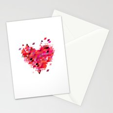 Heart1 Red Stationery Cards