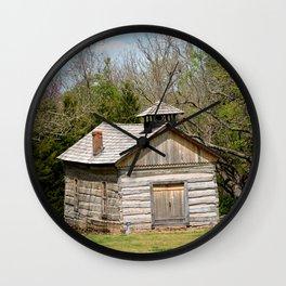 Prairie Grove Battlefield - The Latta Homestead, Established in 1834, No. 5 of 5 Wall Clock