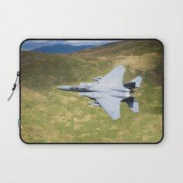 Low Flying F-15E Strike Eagle Laptop Sleeve