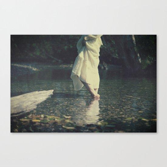water walk Canvas Print