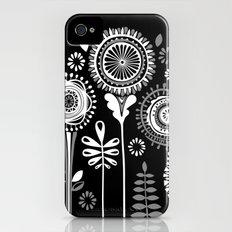 Folksy Flowerheads reverse iPhone (4, 4s) Slim Case