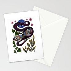Moth & Snake Stationery Cards