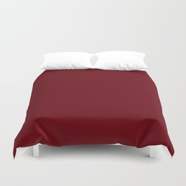 Rosewood - solid color Duvet Cover