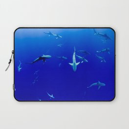 Party Sharks Laptop Sleeve