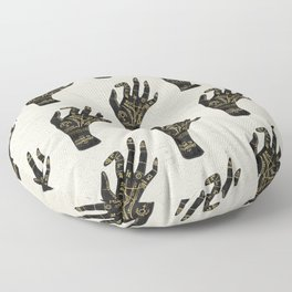 Palmistry Floor Pillow