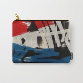 French Expressionist Abstract Art Carry-All Pouch