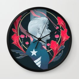 It's a cold and it's a broken Hallelujah Wall Clock