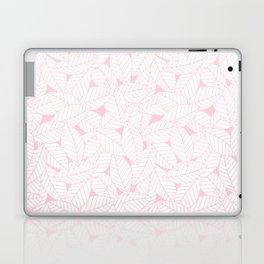 Leaves in Rose Laptop & iPad Skin