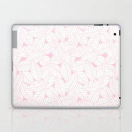 Leaves in Rose Laptop & iPad Skin