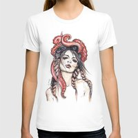 octopus T-shirts featuring Octopus by Nora Bisi