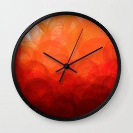 Sunset Globes Wall Clock