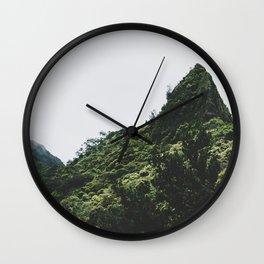 Pali Point - Hawaii Wall Clock