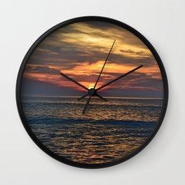 Rehoboth Beach sunrise Wall Clock