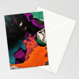 Washed out over time Stationery Cards
