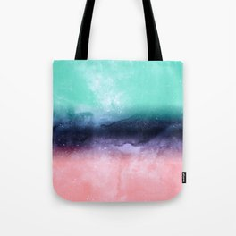 Modern watercolor abstract paint Tote Bag