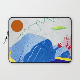 Dry Lightning in the Rocky Valley Laptop Sleeve