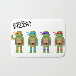 Someone Said Pizza? Bath Mat