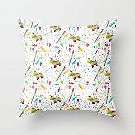 Piñatas Throw Pillow
