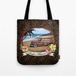 Surfin' Hawaii Tote Bag
