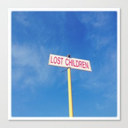 Lost children Canvas Print