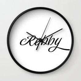 Name Robby Wall Clock