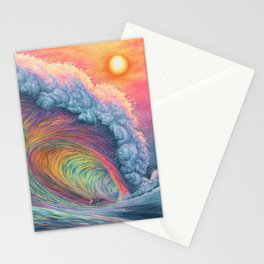 Last Ride of the Day Stationery Cards