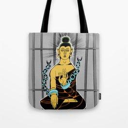 Incarcerated Buddha Tote Bag