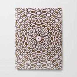 Sun Mandala CB Metal Print