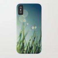 grass iPhone & iPod Cases featuring Grass  by Koka Koala