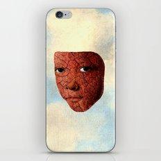 Mask A iPhone Skin