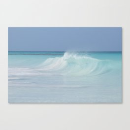 Gentle wave Canvas Print