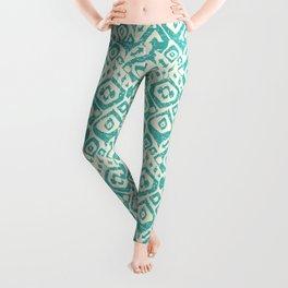 lezat turquoise Leggings