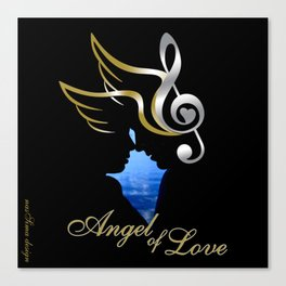 Angel of Love  Canvas Print