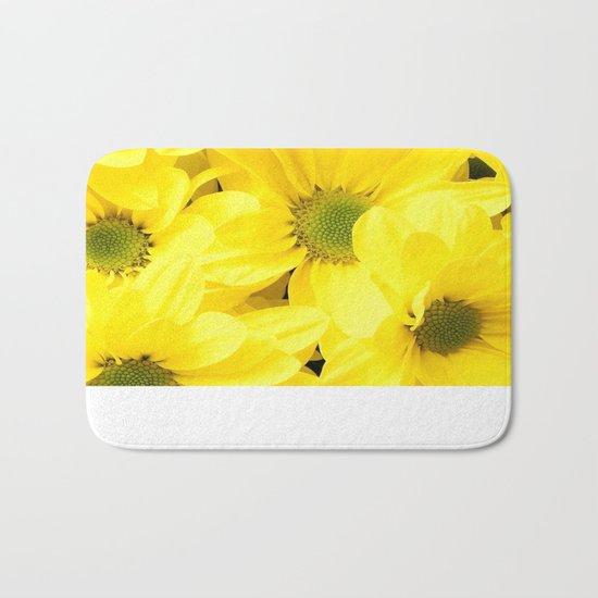 Happy Of A Flower Bath Mat