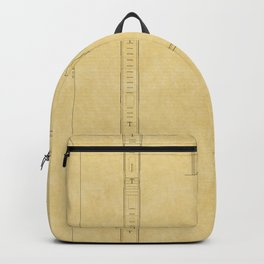 Chicago Theatre Blueprint Backpack