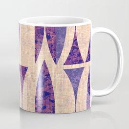 Seventies violet Pattern Coffee Mug