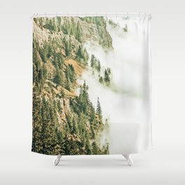 Hills & Fog #photography #nature Shower Curtain