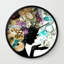 Sea Child Wall Clock