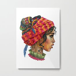 VoodoWitch Solo #2 Metal Print