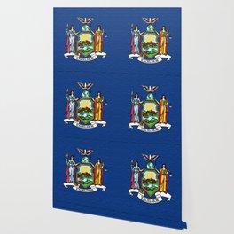 Fancy Flag:  New York Wallpaper
