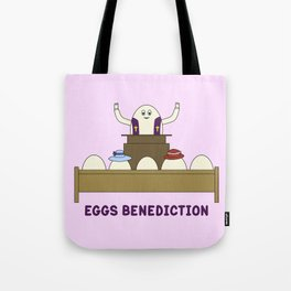 Eggs Benediction Tote Bag