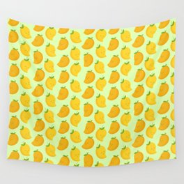 Happy Mangoes Wall Tapestry