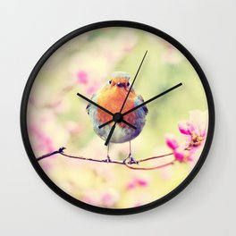 Chubby Bird Wall Clock