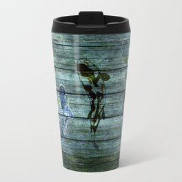 Wood Fish Travel Mug
