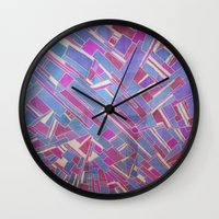tina crespo Wall Clocks featuring Tina by Marina Scheinost