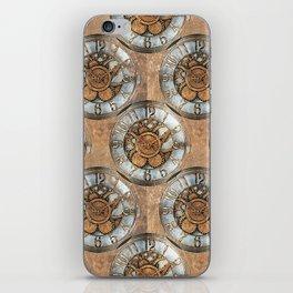 Steampunk Time iPhone Skin