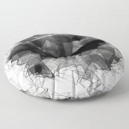 Crystal Shades Floor Pillow